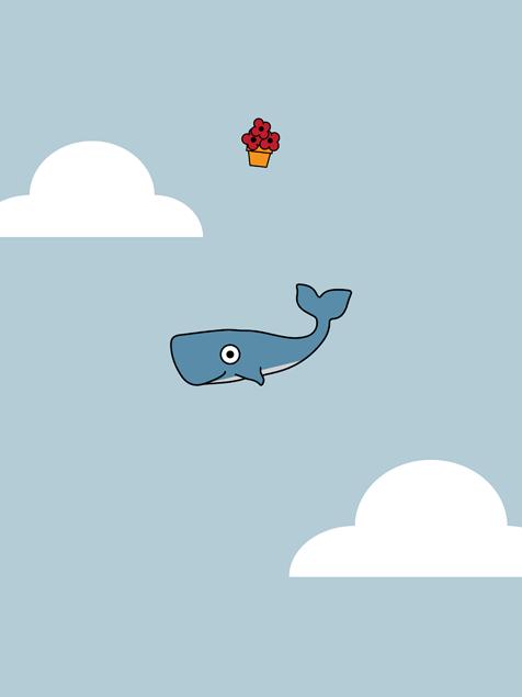 Pulp Fiction Iphone Wallpaper Hitchhiker S Whale Mobile Wallpaper Miniwallist