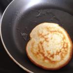 Pancake once flipped