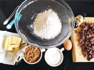 choc chic cookie ingredients