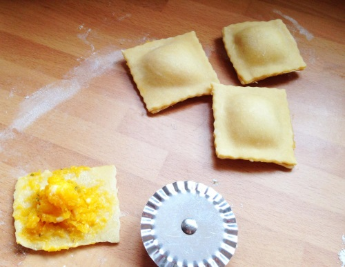 It's easy for kids to make their own pasta