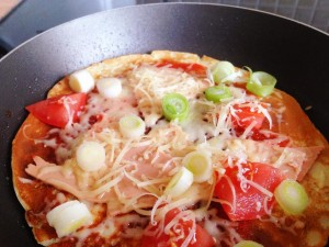 Try a pancake pizza for pancake day or any day!