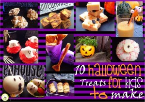 10 Halloween Treats for Kids to Make