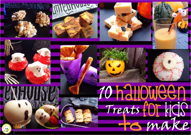 halloween food for kids to make