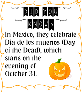 day of the dead fact