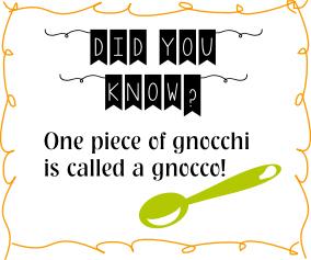 gnocchi-fact