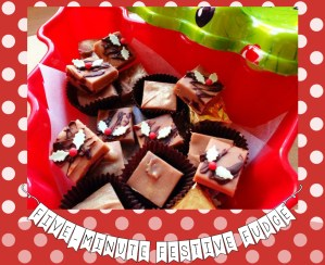 Five-Minute Festive Fudge