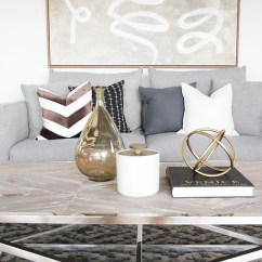 Living Room Package Decor With Dark Brown Couch Urban