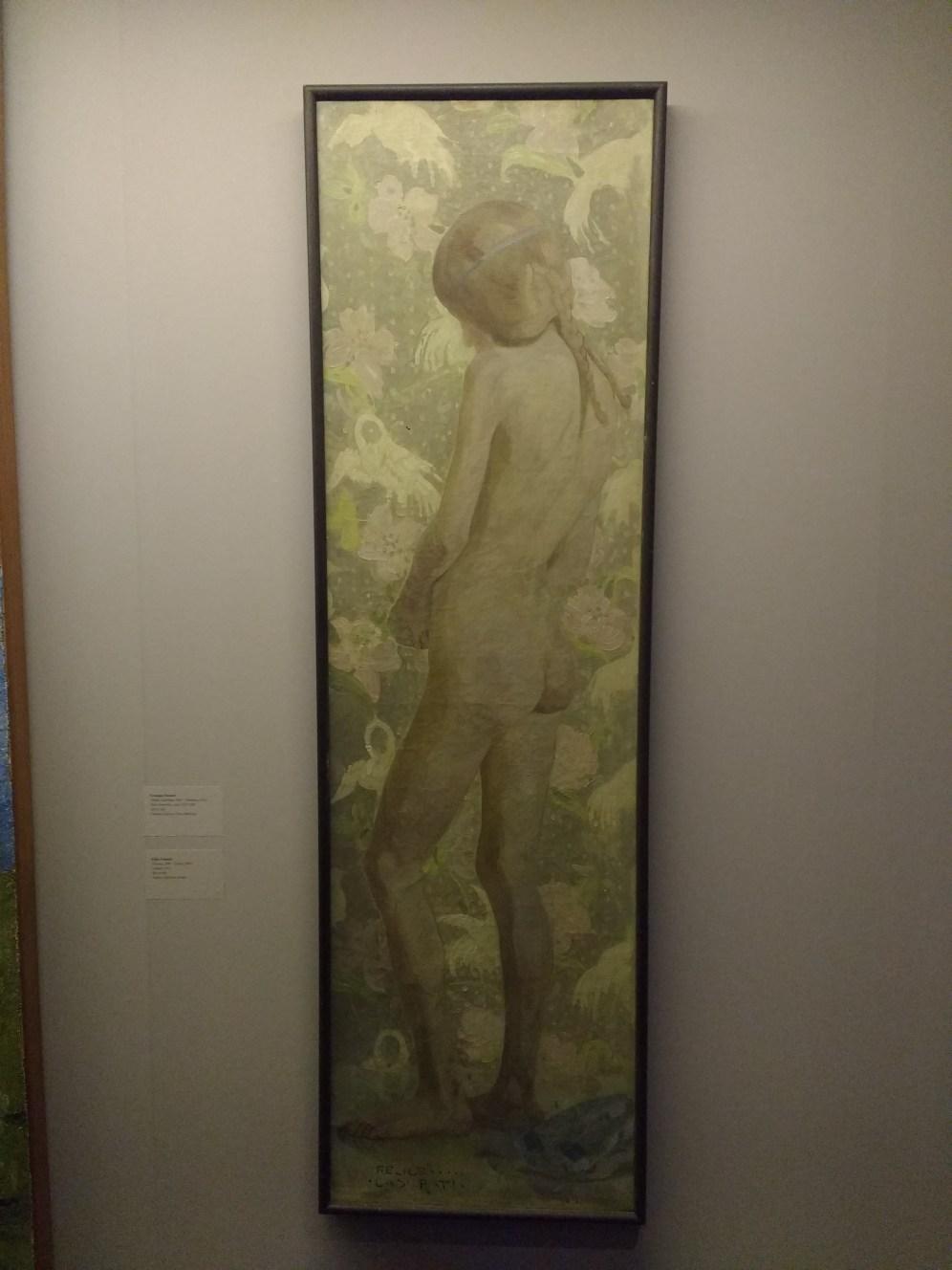Felice Casorati, Nudo femminile