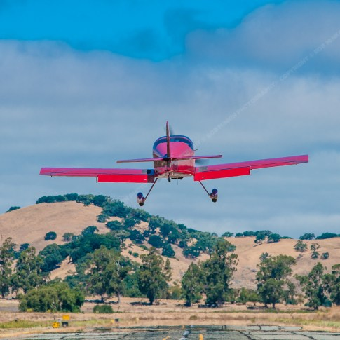 Van's RV-6 at Gnoss Field, Novato, CA