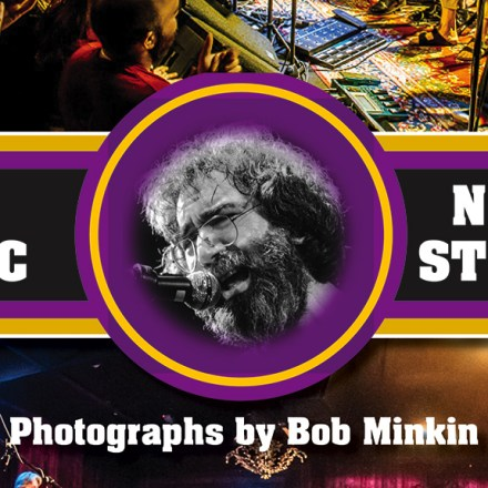 The Music Never Stopped - Epic Live Music Photos by Bob Minkin