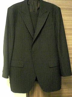 ゼニアのオーダースーツが完成