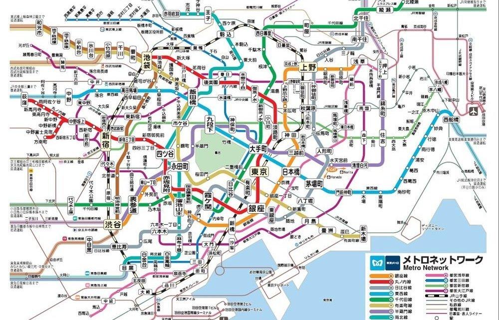 新宿←→東京の楽チンな移動方法