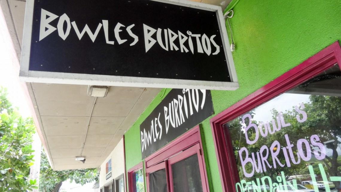 日本人皆無!カイルアで食べるブリトーの名店「Bowles Burritos」