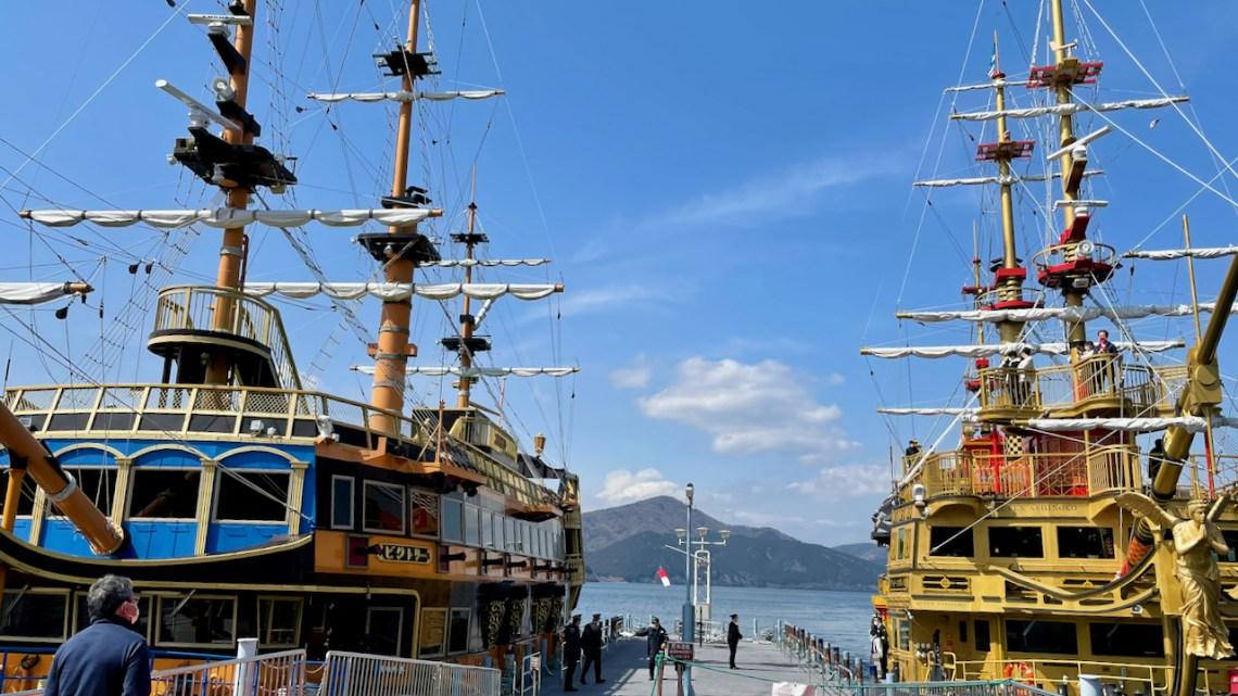 箱根 芦ノ湖の遊覧船は特別船室がおすすめ!