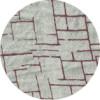 6 limestone printed linnen