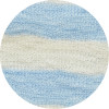 B - 0 - 817 raw white - sky blue melange