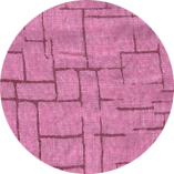 Pink-linnen-printed