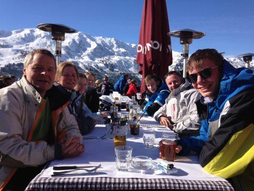Frokost i på bjerget