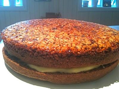 oppned kake