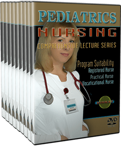 Pediatrics Nursing DVDs