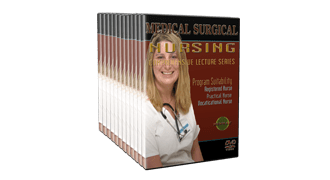 Medical Surgical Nursing DVDs