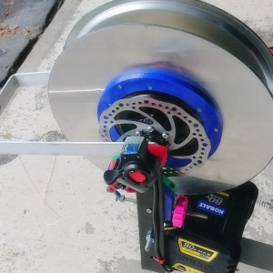 1kw paragliding winch