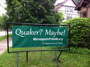 Quaker? Maybe! Banner