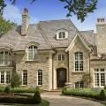 Rock brick combination exterior home home improvement brick