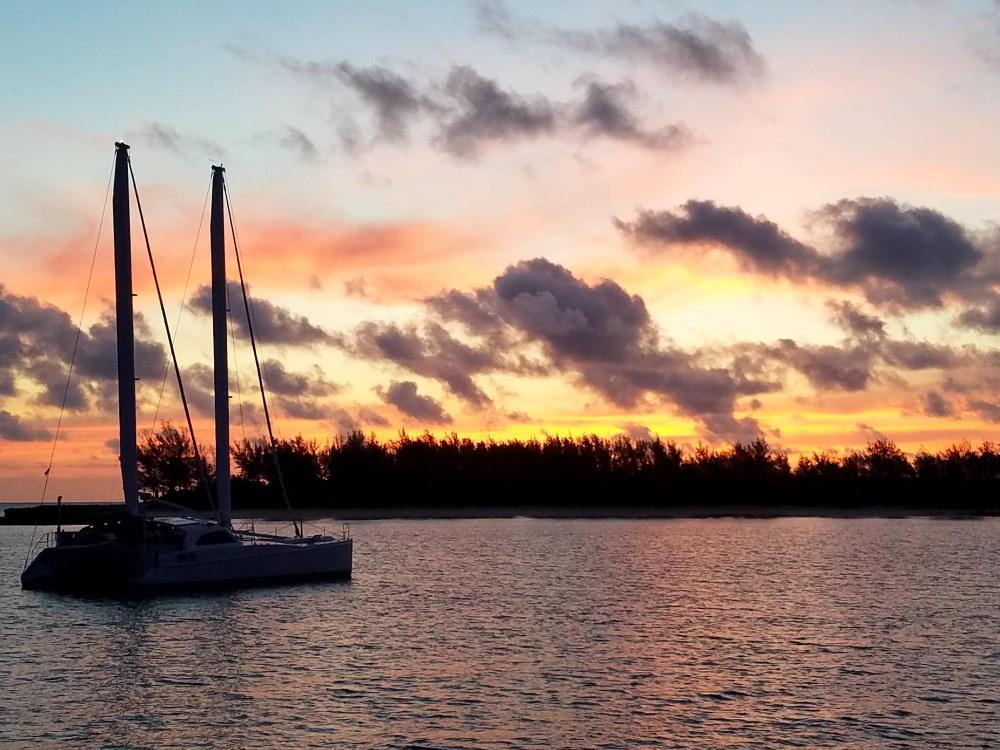 Dawn June 12 Madjack cay Baham
