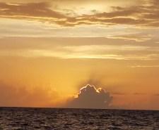 Sunrise over ocean day 2