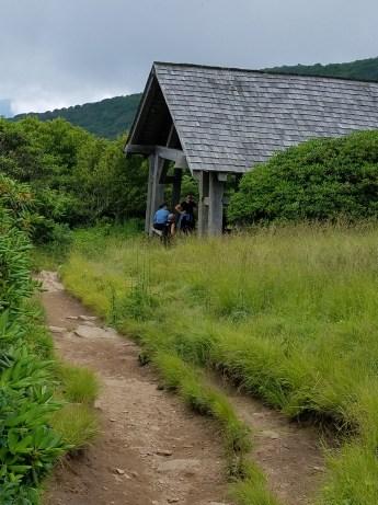 Blue ridge mts craggy gardens hike 7317