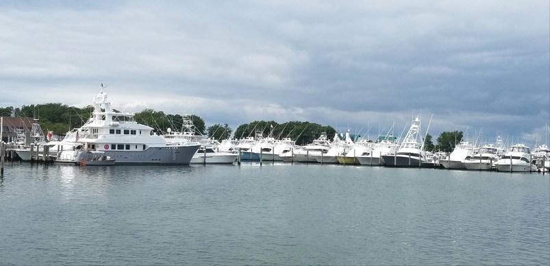 Montauck marina was sport fishing centra