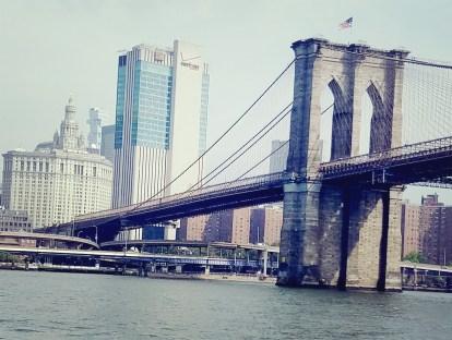72817 up East river beneath Brooklyn bridge