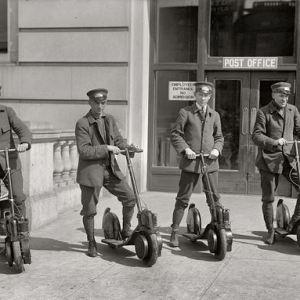 Innovatief vervoermiddel voor postbodes