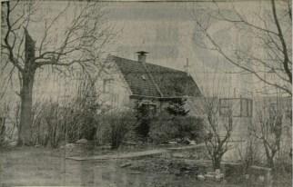De Dubbele woning zoals die er  in 1949 uitzag - zonder de bijbouw van kalkzandsteen