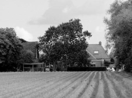 Miedleane 25. Hier woonden Gerrit en Aafke Boomsma.