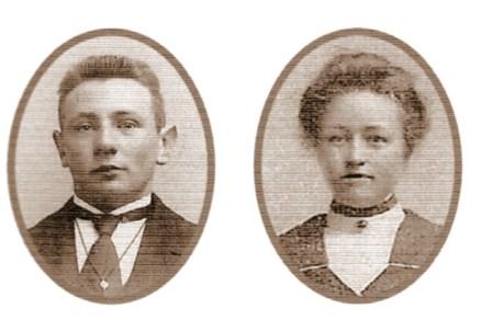 Jan Obbes de Roos en Welmoed Jansma
