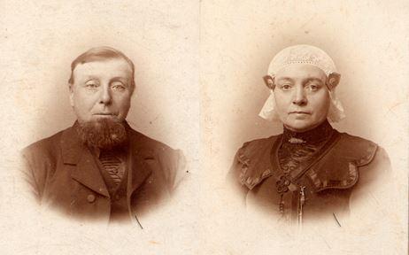 Auke Wierda en Liesbeth Douwes van der Weg