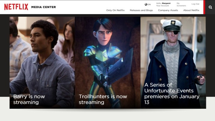 Netflix Media Center