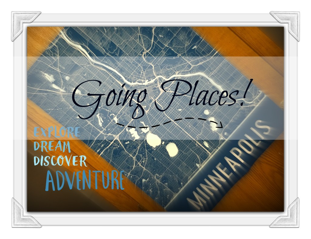 Going Places: a Midlife Reflection & Modern Map Art Review