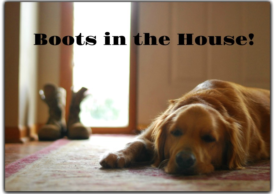 Boots in the House! A Brief Debriefing with More to Come