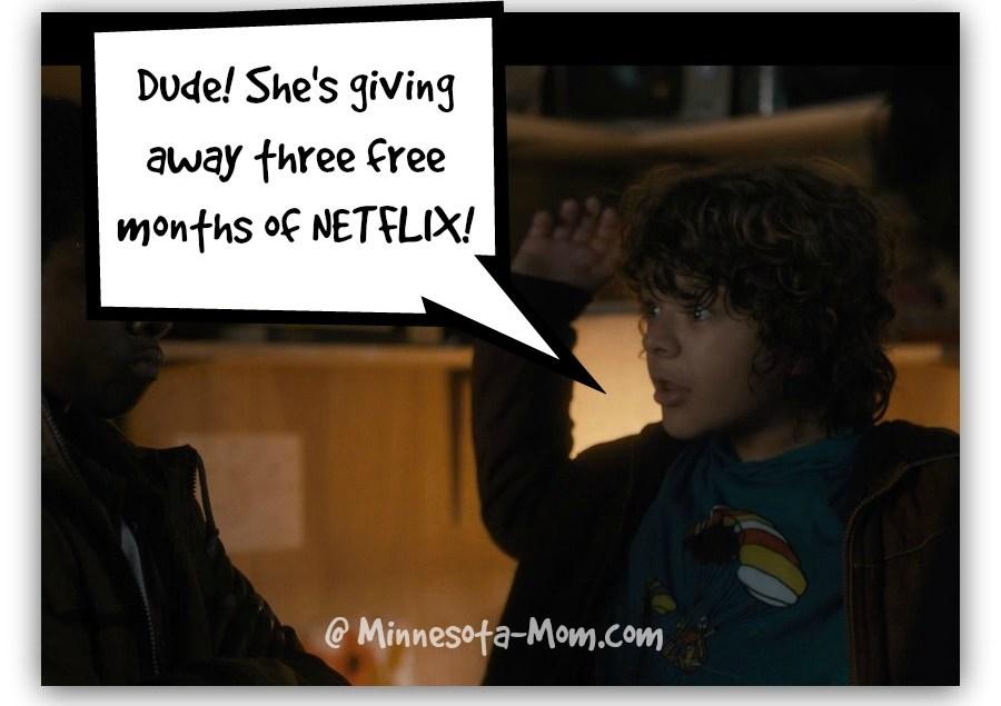 Stranger Things Season 2: A NETFLIX Give-Away