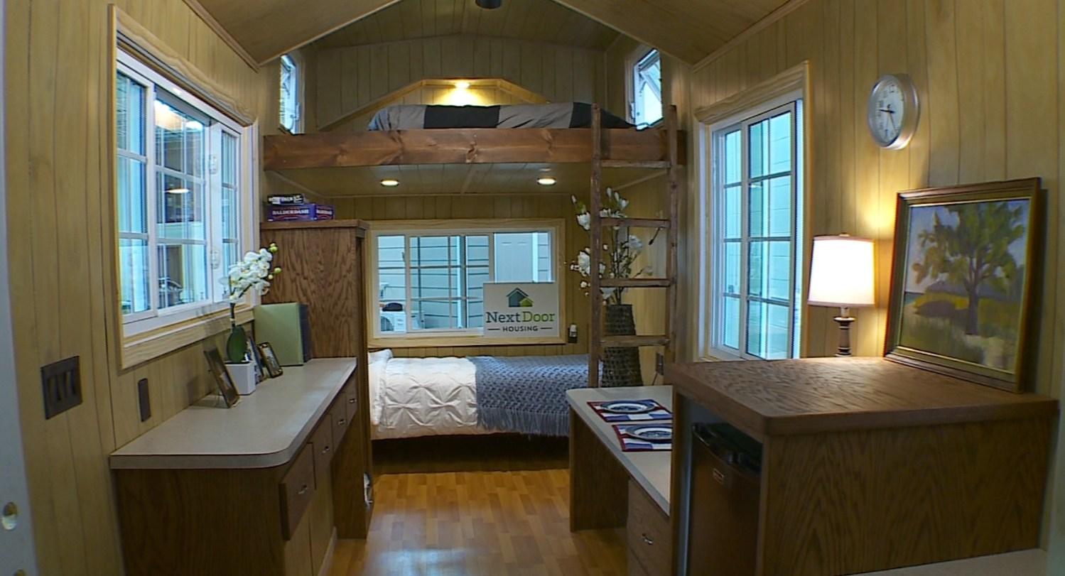 Tiny Homes Keep Seniors Close To Family Away From