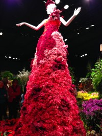 The gallery for --> Dress Made Out Of Flowers