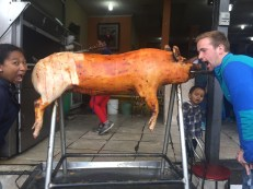Hornado! We love pig! The best part is the skin!