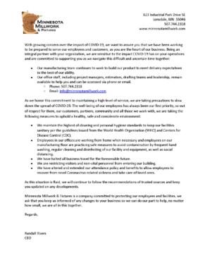 MMF COVID-19 Update