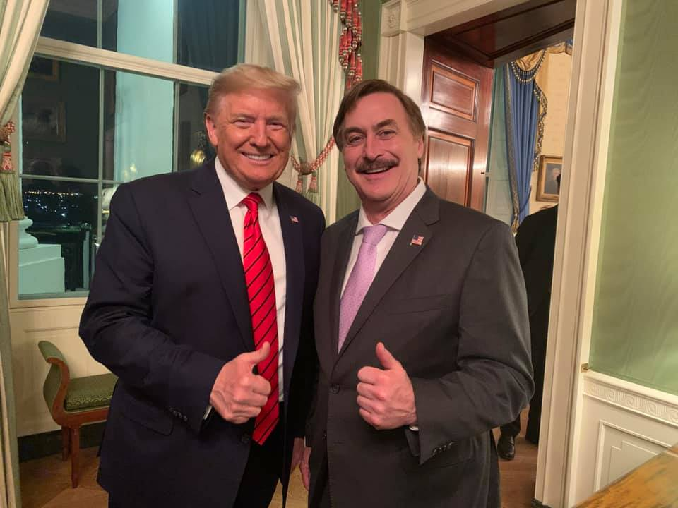 mike lindell says he didn t mean for