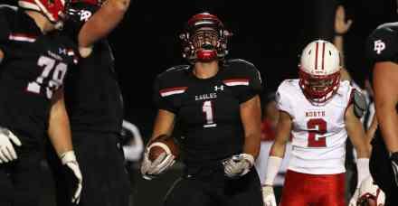Eden Prairie's Antonio Montero is Good at Football