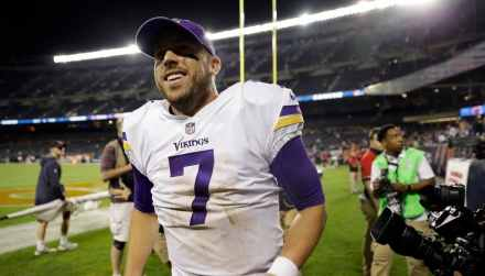 On the Vikings Quarterback Situation: Case Closed