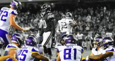 Vikings Winning More than Just Games; Awarded Top TD Celebration of 2017